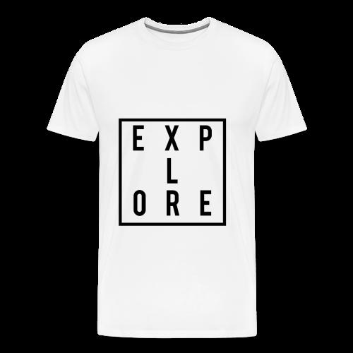 Explore T-Shirt  - Men's Premium T-Shirt