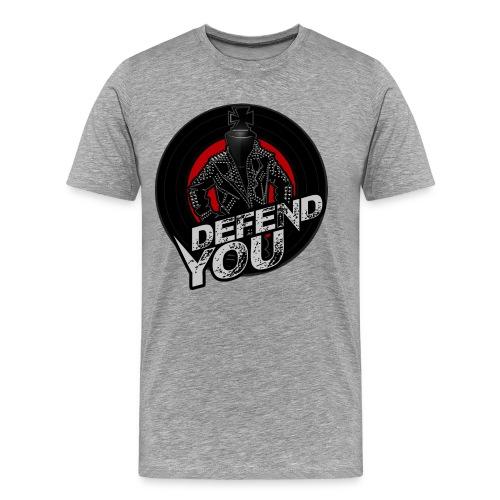 The Punk Rock King Tee - Men's Premium T-Shirt