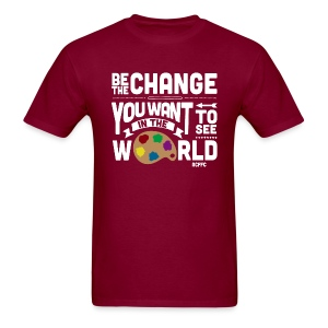 Be the Change - Men's - Men's T-Shirt