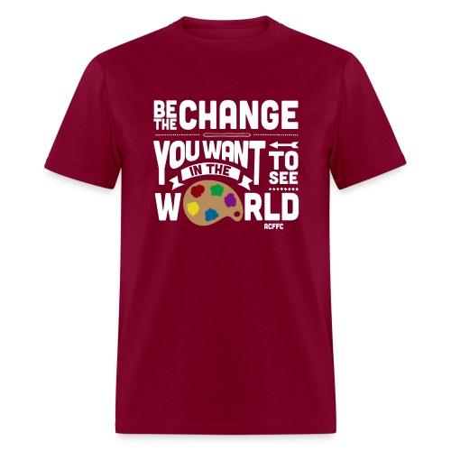Be the Change - Men's - Men's T-Shirt