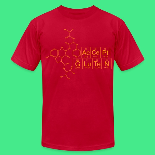 Accept Gluten - Men's Fine Jersey T-Shirt
