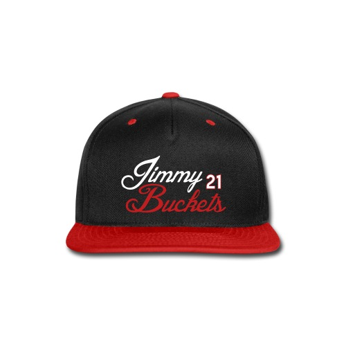 Bulls Jimmy Buckets Snapback - Snap-back Baseball Cap