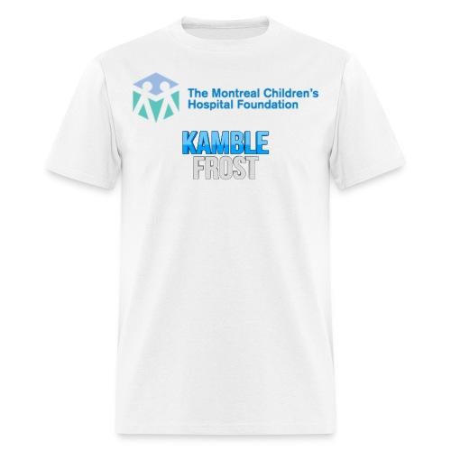 Kamble Frost Sick kids Support Shirt (Men) - Men's T-Shirt