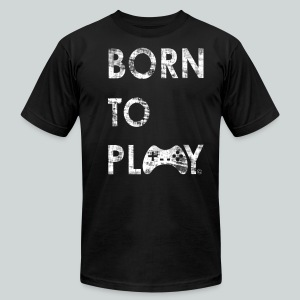 Born to play GamefulHeroes Men's T-Shirt by American Apparel - Men's Fine Jersey T-Shirt