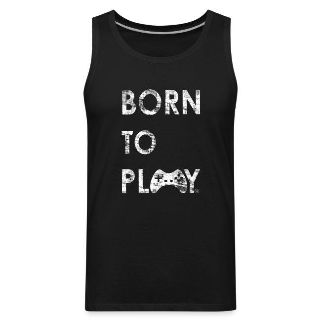 Born to Play GamefulHeroes Men's Premium Tank