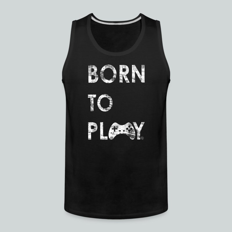 Born to Play GamefulHeroes Men's Premium Tank - Men's Premium Tank