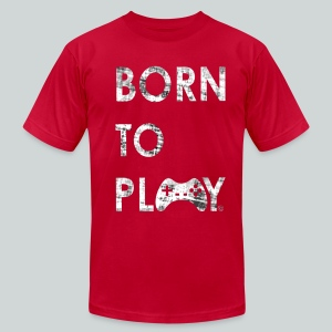 Born to play GamefulHeroes Men's T-Shirt by American Apparel - Men's T-Shirt by American Apparel