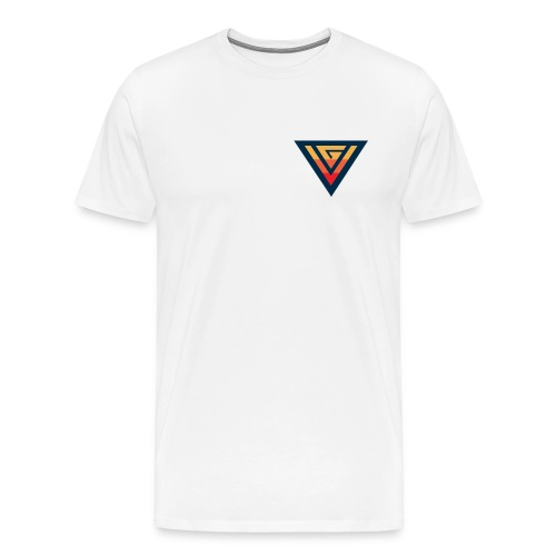 Violent White T - Men's Premium T-Shirt