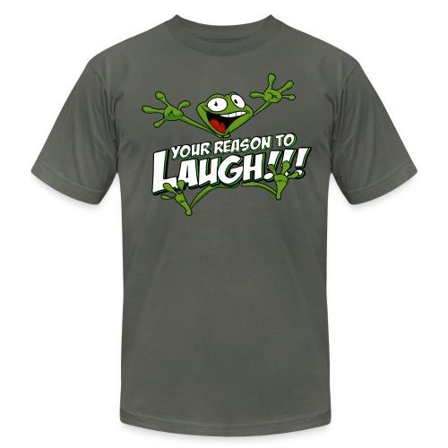 YRTL with Logo - Men's Fine Jersey T-Shirt