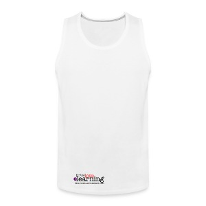 For the Love of Learning 100% cotton vest - men - Men's Premium Tank