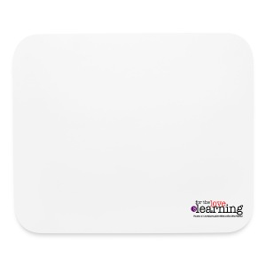For the Love of Learning mouse mat - Mouse pad Horizontal