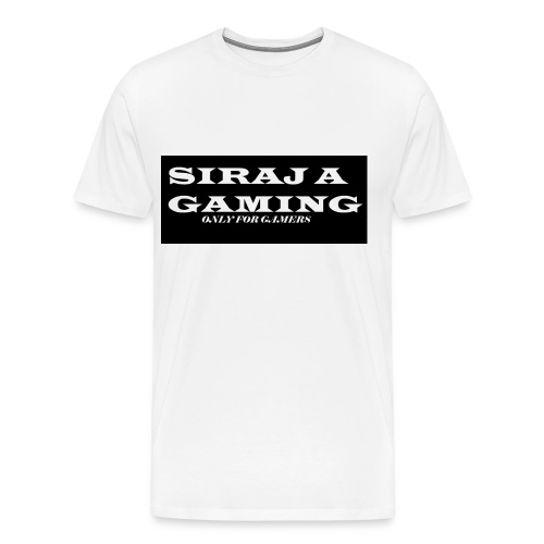 SIRAJ.A GAMING - Men's Premium T-Shirt
