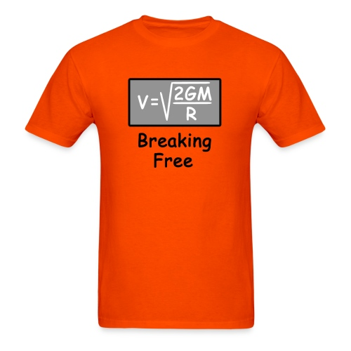 Escape Velocity - Men's T-Shirt