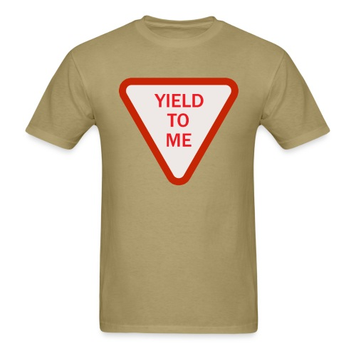 Yield to Me Red - Men's T-Shirt
