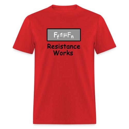 Friction - Men's T-Shirt