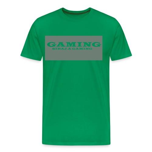 GAMING T-SHIRT IN GREEN - Men's Premium T-Shirt