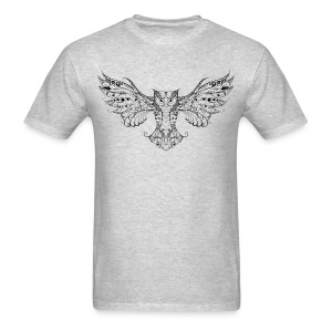 OWL – Go find your wings and fly Men's T-Shirt - Men's T-Shirt