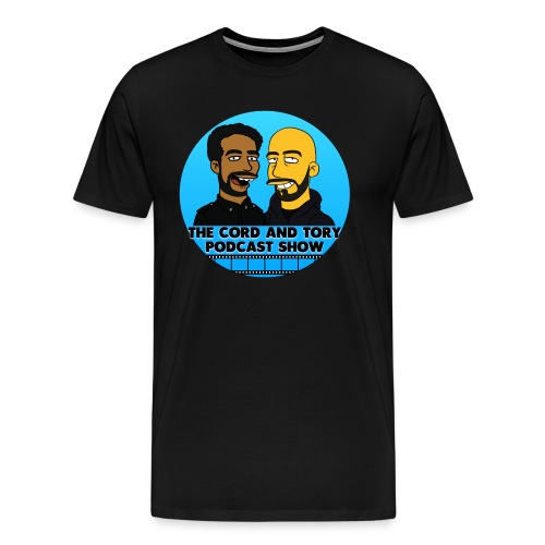 Official Cord and Tory Podcast Tee Shirt! 2016 - Men's Premium T-Shirt