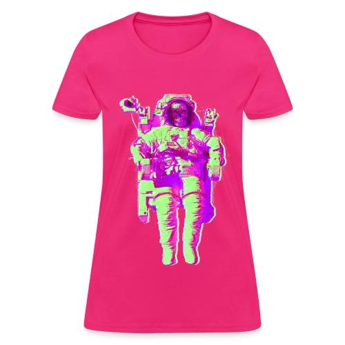 Space Skull - Women's T-Shirt