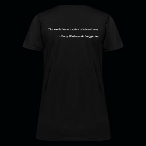 Wicked Salon - Spice! Black Tee W - Women's T-Shirt