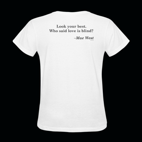 Wicked Salon - Look At Me! White Tee W - Women's T-Shirt