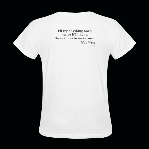 Wicked Salon - Three times is the charm! White Tee W - Women's T-Shirt