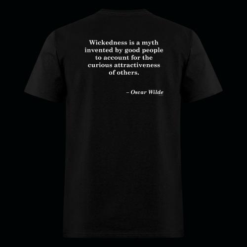 Wicked Salon - Myth Black Tee M - Men's T-Shirt