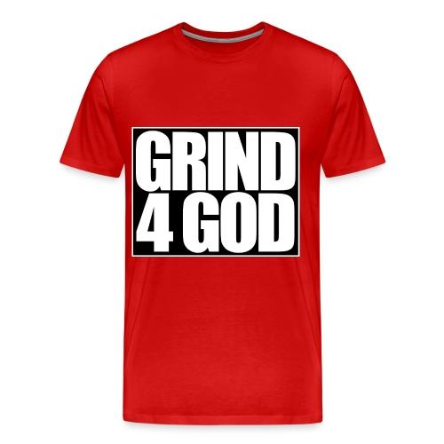 Grind4God (Men's Tee) - Men's Premium T-Shirt
