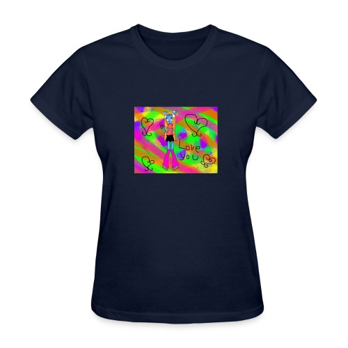 cartoon tshirt - Women's T-Shirt