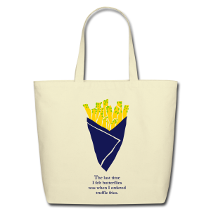 Truffle Fries Tote - Eco-Friendly Cotton Tote