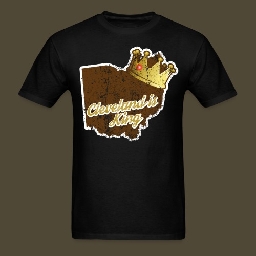 Cleveland Is King - Men's T-Shirt