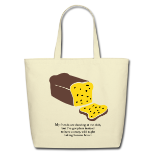 Banana Bread Tote - Eco-Friendly Cotton Tote