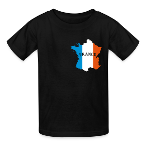 French love - Kids' T-Shirt