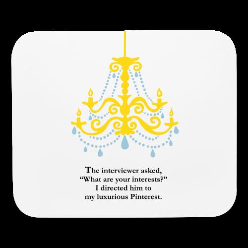 Luxurious Pinterest Mouse Pad - Mouse pad Horizontal
