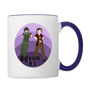 Team B.S. Mug (Style 1) - Right Handed - Contrast Coffee Mug