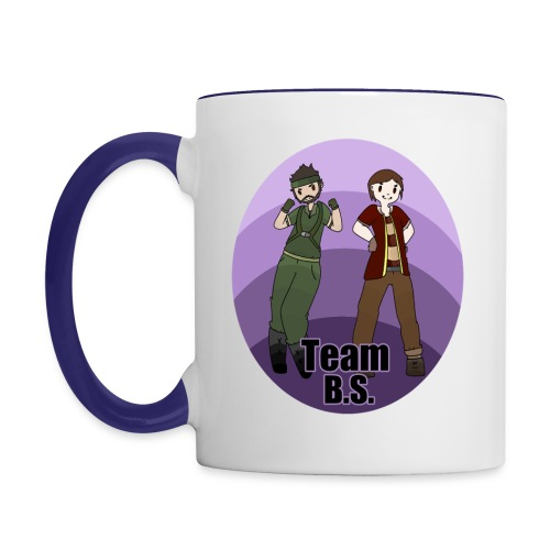 Team B.S. Mug (Style 1) - Left Handed - Contrast Coffee Mug