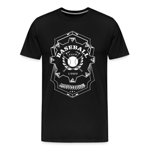 Baseball Badge - Men's Premium T-Shirt
