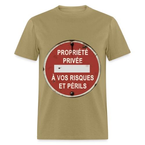Propriété Privée (homme) - Men's T-Shirt