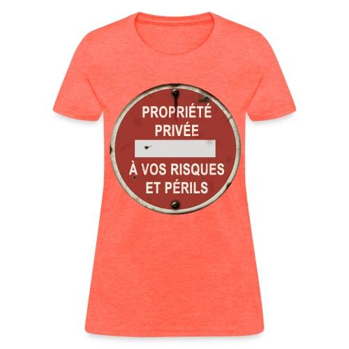 Propriété Privée (femme) - Women's T-Shirt