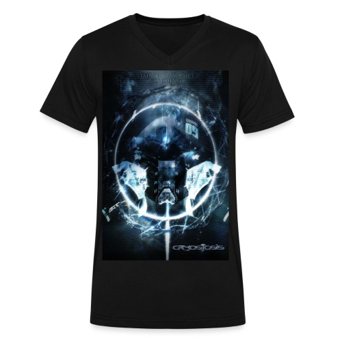 Cryostasis Male V-Neck - Men's V-Neck T-Shirt by Canvas