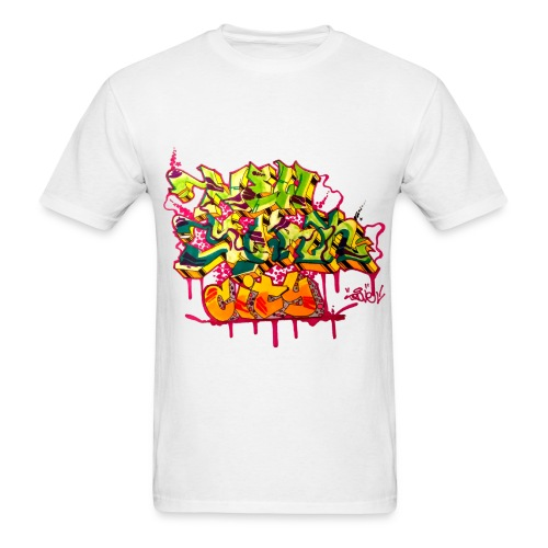 POVE - Design for New York Graffiti Color Logo - Men's T-Shirt