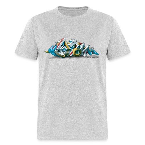 Phame Design for New York Graffiti  - 3D Style - Men's T-Shirt