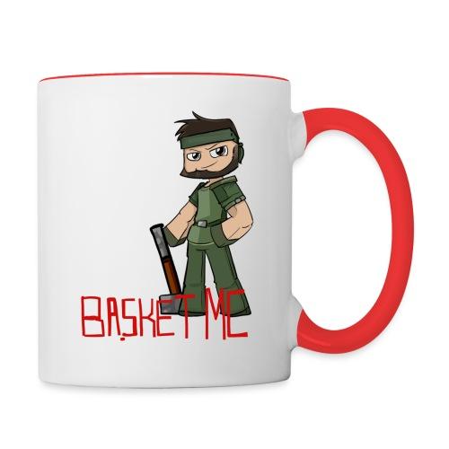 BasketMC Mug with Lever - Contrast Coffee Mug