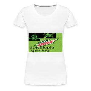 dewdiepie gaming women's t shirt - Women's Premium T-Shirt