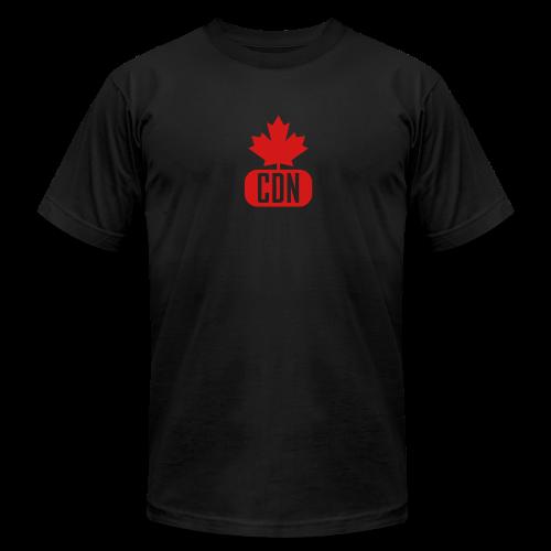 CDN with Leaf - Men's  Jersey T-Shirt