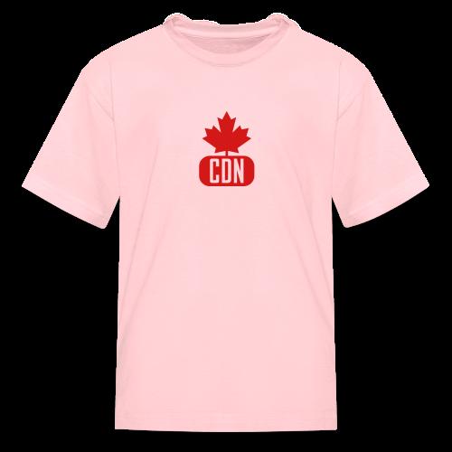 CDN with Leaf - Kids' T-Shirt