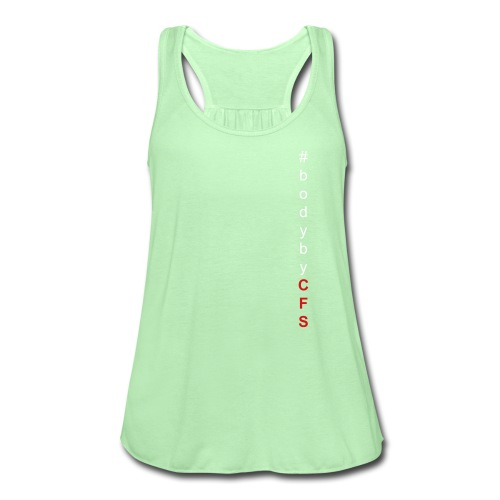#bodybyCFS - Women's Flowy Tank Top by Bella
