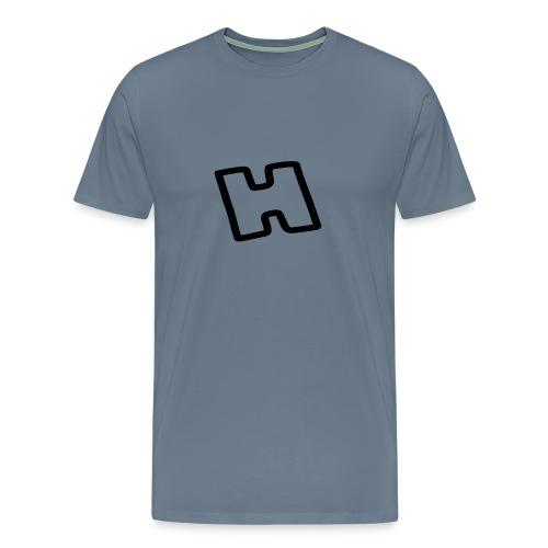 H -  HowDoIPlayGT Profile Picture letter - Men's Premium T-Shirt