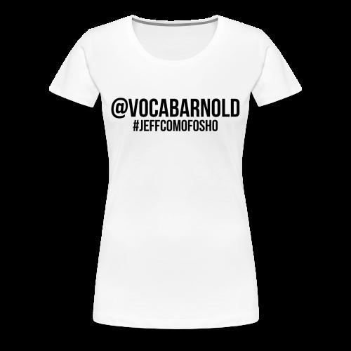 Arnold Vocab Female - Women's Premium T-Shirt