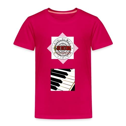 Toddler Premium C-Rez Records T-Shirt - Toddler Premium T-Shirt